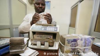 Nigeria Geldwechsler