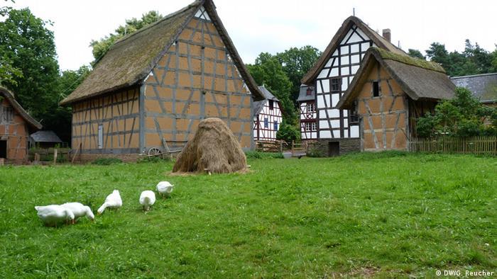 Freilichtmuseum Kommern Haufendorf, Copyright: DW/G. Reucher