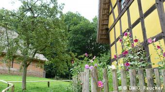 Freilichtmuseum Kommern Bauerngarten, Copyright: DW/G. Reucher