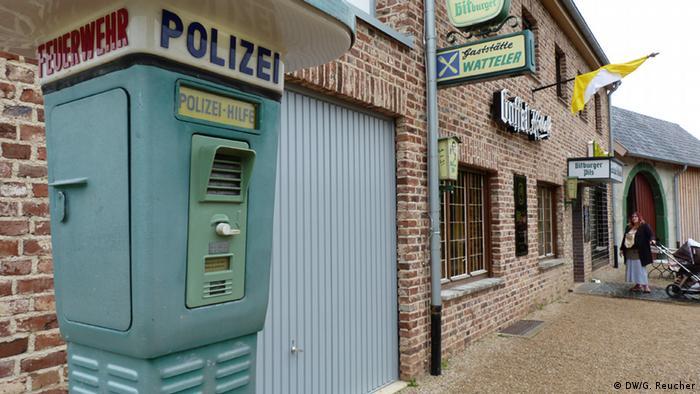 Freilichtmuseum Kommern Notrufsäule Copyright: DW/G. Reucher