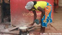 Mosambik, Bilder aus Inhambane - Kochen ohne Gas