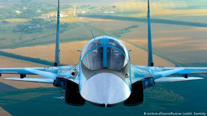 Російський літак Су-34, архівне фото