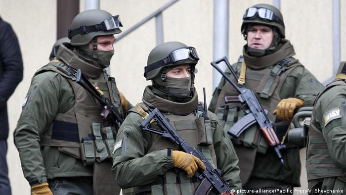Ukraine Sicherheitskräfte