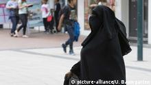 Deutschland Niqab in Bad Godesberg