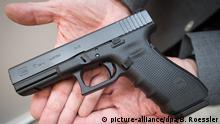Glock 17 Waffe des Münchener Attentäters