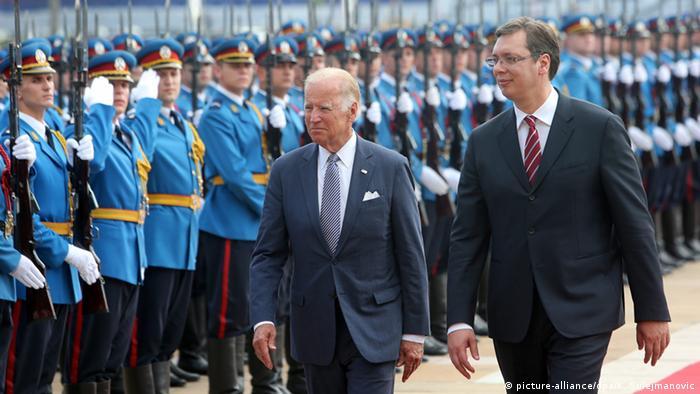 US Vizepräsident Biden zu Besuch in Serbien