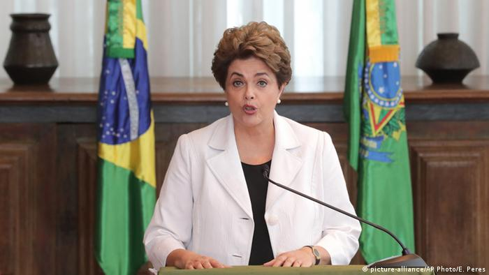 Brasilien Dilma Rousseff Rede