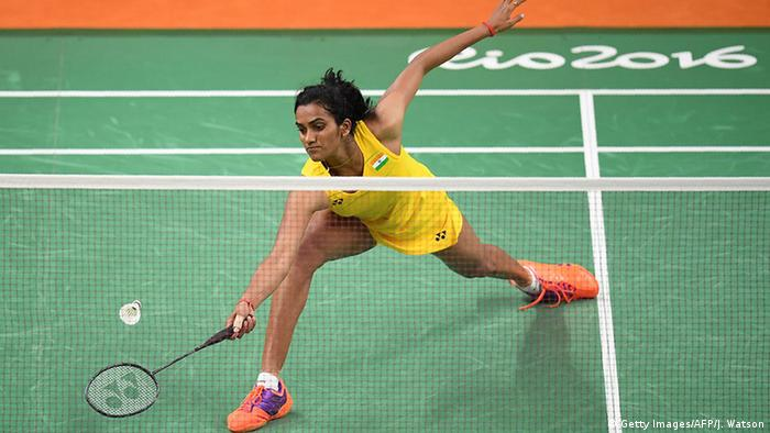 match badminton Pusarla V. Sindhu (Getty Images/AFP/J. Watson)