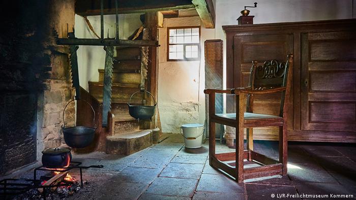 Freilichtmuseum Kommern Feuerstelle