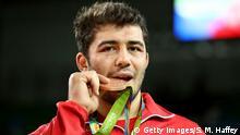 Brasilien Olympische Spiele in Rio - Ringer Cenk Ildem