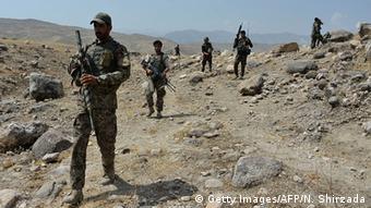 Афганские военные в провинции Нангархар
