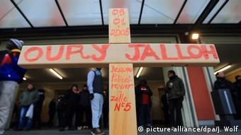 Deutschland Demonstration 10. Todestag von Asylbewerber Oury Jalloh
