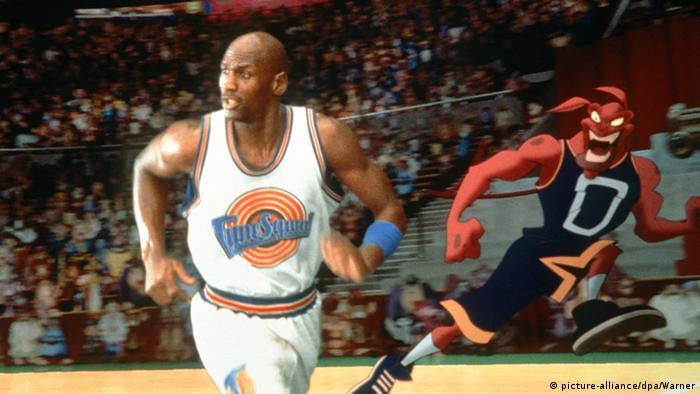 Filmstill Space Jam mit Michael Jordan