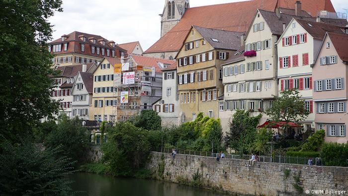 Neckarpanorama in Tübingen