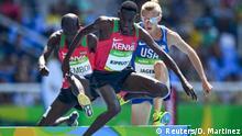 Brasilien Olympische Spiele Rio 2016 - 3000 Meter Hindernislauf - Conseslus Kipruto