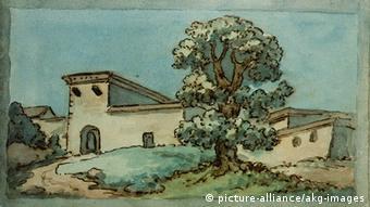 Artikelfotos zu Sehnsucht Italien - Zeichnung