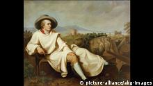 Goethe in der Campagna, Gemälde von Johann Heinrich Wilhelm Tischbein