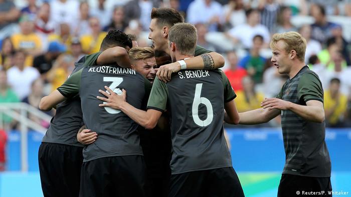 Brasilien Olympia Rio 2016 Fussball - Deutschland gegen Nigeria