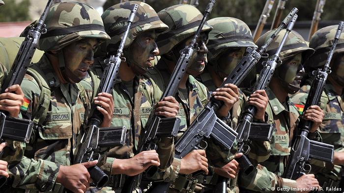 Symbolbild Bolivien Soldaten