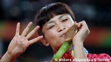 Brasilien Rio Olympische Spiele Ringen Kaori Icho