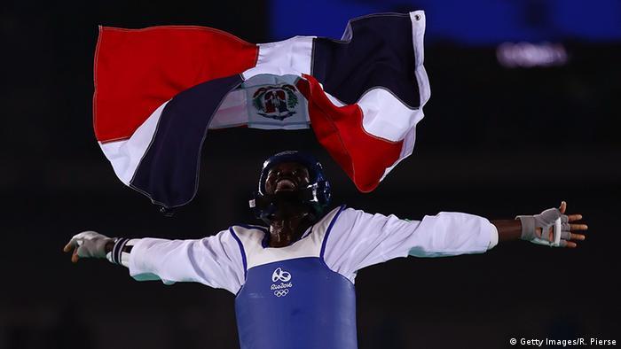 Brasilien Rio Olympische Spiele Taekwondo Luisito Pie
