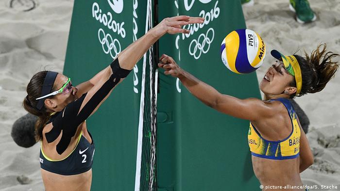 Brasilien Rio Olympische Spiele Volleyball Finale