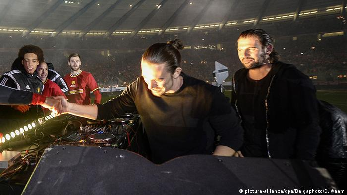 Internationale DJs Dimitri Vegas und Like Mike