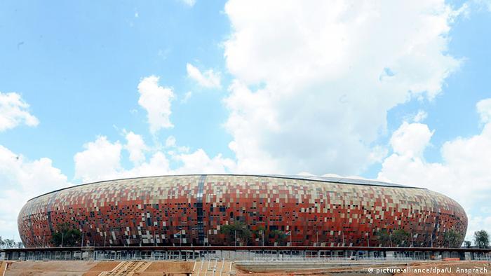 Soccer City Stadium in Johannesburg (Photo: dpa)