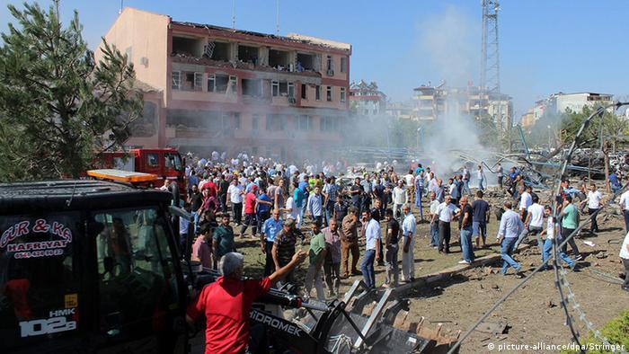 Türkei Elazig Anschlag Explosion