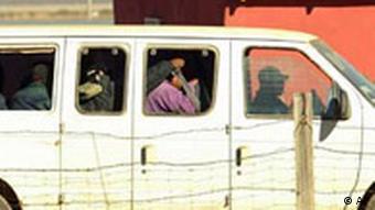 Die Grenze von der USA und Mexiko Immigrationsgesetz