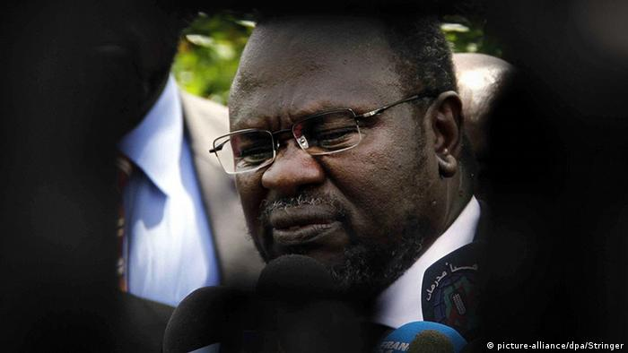Südsudan Riek Machar Rebellenführer SPLM (picture-alliance/dpa/Stringer)