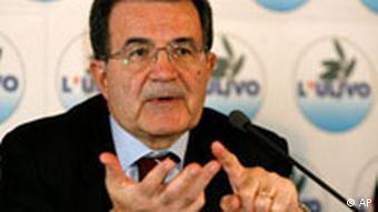 Wahlen Italien Romano Prodi