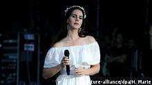 Carhaix Vieilles Charrues Festival Lana Del Rey