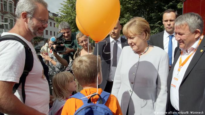 Angela Merkel in Ribnitz-Damgarten