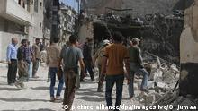 Syrien Situation in Aleppo