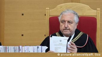 Andrzej Rzeplinski Präsident Verfassungsgericht in Polen