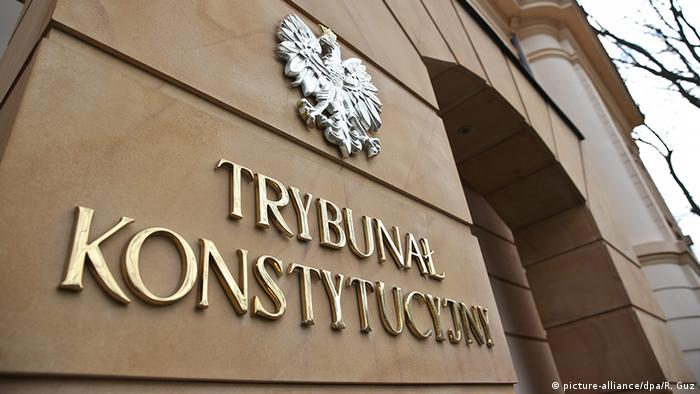 Polen Verfassungsgericht in Warschau