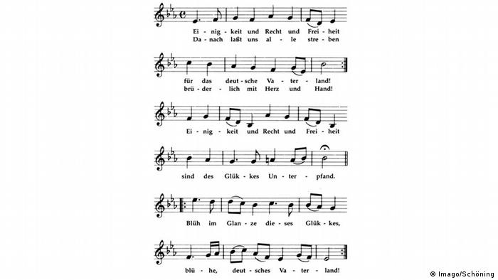 The Song of Germany, Copyright: Imago/Schöning