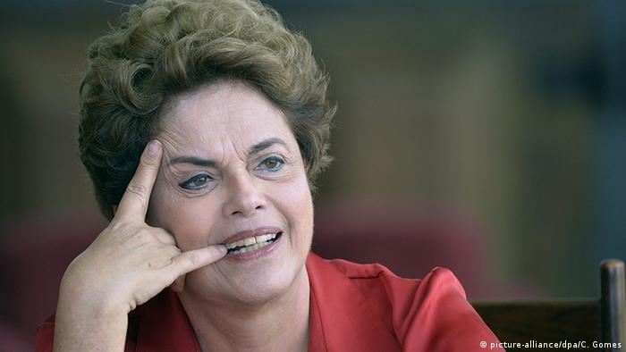 Brasilien PK Staatspräsidentin Dilma Rousseff