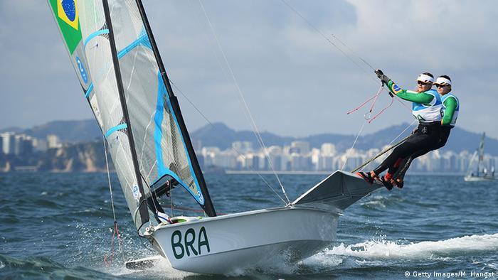 Brasilien Olympische Spiele Rio 2016 Segeln Martina Grael und Kahena Kunze