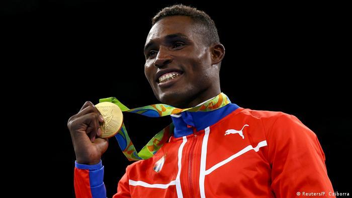 Rio 2016 Olympishce Spiele Julio Cesar La Cruz