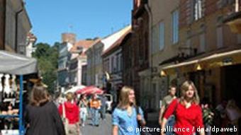 Litauen Altstadt von Vilnius