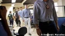 Brasilien Olympische Spiele Rio 2016 - Polizei & US-Schimmer Conger & Bentz
