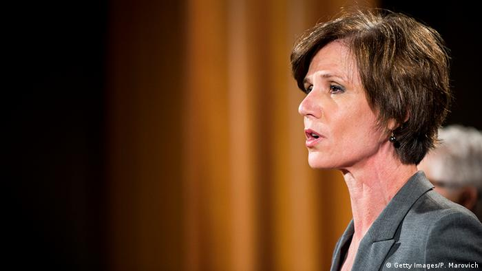 USA Sally Yates - stellvertretende Generalstaatsanwältin der USA (Getty Images/P. Marovich)