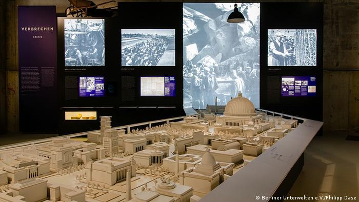 Копия макета столицы мира Germania