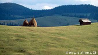 Landschaft in Siebenbürgen Rumänien