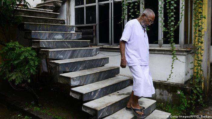 Indien Kalkutta Mönch Swami Sivananda will ältester Mann der Welt sein (Getty Images/AFP/D. Sarkar)