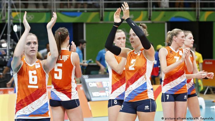 Rio 2016 Olympia Volleyball China v Niederlande
