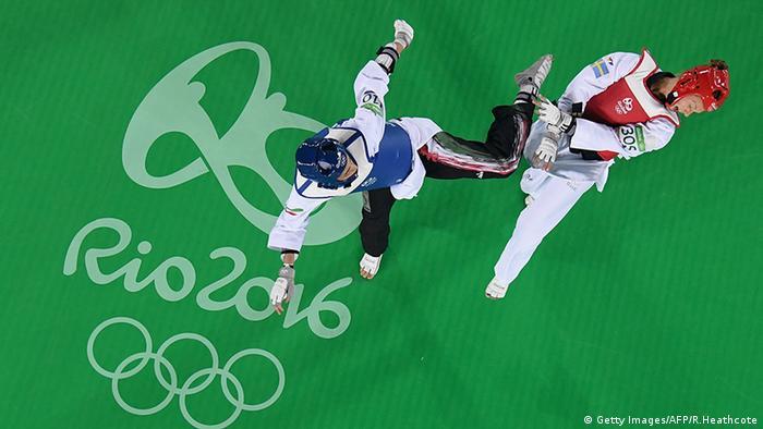 Kimia Alizadeh Zenoorin Iran Taekwondo Rio 2016 Olympia
