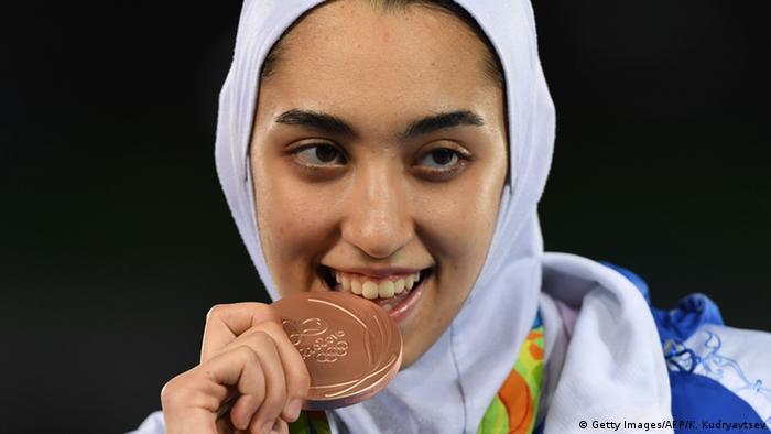 Brasilien Rio 2016 Olympische Spiele Kimia Alizadeh Zenoorin Iran